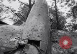 Image of Airliner wreckage Bethel Connecticut USA, 1934, second 20 stock footage video 65675032721