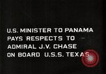 Image of Admiral JV Chase United States USA, 1933, second 3 stock footage video 65675032732
