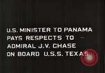 Image of Admiral JV Chase United States USA, 1933, second 9 stock footage video 65675032732