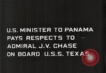 Image of Admiral JV Chase United States USA, 1933, second 16 stock footage video 65675032732