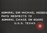 Image of Admiral JV Chase United States USA, 1933, second 14 stock footage video 65675032734