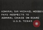 Image of Admiral JV Chase United States USA, 1933, second 19 stock footage video 65675032734