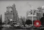 Image of Ellis Island detention building New York City USA, 1948, second 11 stock footage video 65675032741
