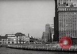 Image of Ellis Island detention building New York City USA, 1948, second 41 stock footage video 65675032741