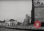Image of Ellis Island detention building New York City USA, 1948, second 43 stock footage video 65675032741