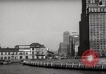 Image of Ellis Island detention building New York City USA, 1948, second 46 stock footage video 65675032741