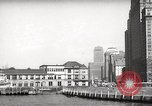 Image of Ellis Island detention building New York City USA, 1948, second 52 stock footage video 65675032741