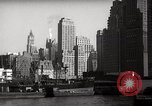 Image of Ellis Island detention building New York City USA, 1948, second 53 stock footage video 65675032741