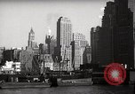 Image of Ellis Island detention building New York City USA, 1948, second 54 stock footage video 65675032741