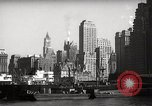 Image of Ellis Island detention building New York City USA, 1948, second 57 stock footage video 65675032741