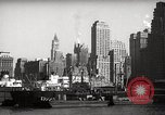 Image of Ellis Island detention building New York City USA, 1948, second 58 stock footage video 65675032741