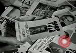 Image of League of Women Voters distributes voter materials Monroe New York USA, 1950, second 14 stock footage video 65675032770