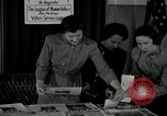 Image of League of Women Voters distributes voter materials Monroe New York USA, 1950, second 17 stock footage video 65675032770