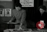 Image of League of Women Voters distributes voter materials Monroe New York USA, 1950, second 19 stock footage video 65675032770