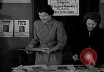 Image of League of Women Voters distributes voter materials Monroe New York USA, 1950, second 20 stock footage video 65675032770