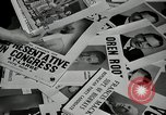 Image of League of Women Voters distributes voter materials Monroe New York USA, 1950, second 42 stock footage video 65675032770