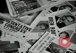 Image of League of Women Voters distributes voter materials Monroe New York USA, 1950, second 43 stock footage video 65675032770