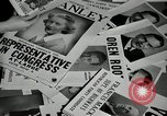 Image of League of Women Voters distributes voter materials Monroe New York USA, 1950, second 44 stock footage video 65675032770