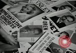 Image of League of Women Voters distributes voter materials Monroe New York USA, 1950, second 46 stock footage video 65675032770