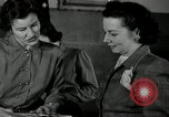 Image of League of Women Voters distributes voter materials Monroe New York USA, 1950, second 54 stock footage video 65675032770