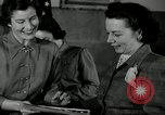 Image of League of Women Voters distributes voter materials Monroe New York USA, 1950, second 56 stock footage video 65675032770