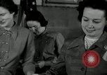 Image of League of Women Voters distributes voter materials Monroe New York USA, 1950, second 57 stock footage video 65675032770
