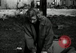 Image of People cleaning up a lot for use as a playground Monroe New York USA, 1950, second 5 stock footage video 65675032772