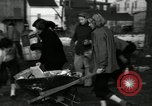 Image of People cleaning up a lot for use as a playground Monroe New York USA, 1950, second 12 stock footage video 65675032772