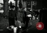 Image of People cleaning up a lot for use as a playground Monroe New York USA, 1950, second 20 stock footage video 65675032772