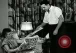 Image of auto worker Detroit Michigan USA, 1950, second 15 stock footage video 65675032773