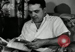 Image of auto worker Detroit Michigan USA, 1950, second 28 stock footage video 65675032773