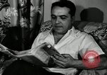 Image of auto worker Detroit Michigan USA, 1950, second 29 stock footage video 65675032773