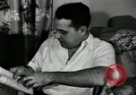 Image of auto worker Detroit Michigan USA, 1950, second 31 stock footage video 65675032773