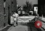 Image of auto worker Detroit Michigan USA, 1950, second 41 stock footage video 65675032773