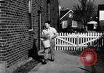 Image of auto worker Detroit Michigan USA, 1950, second 42 stock footage video 65675032773
