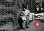 Image of auto worker Detroit Michigan USA, 1950, second 43 stock footage video 65675032773