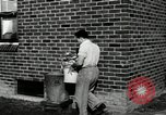 Image of auto worker Detroit Michigan USA, 1950, second 45 stock footage video 65675032773