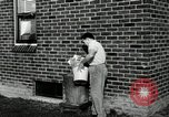 Image of auto worker Detroit Michigan USA, 1950, second 46 stock footage video 65675032773