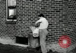 Image of auto worker Detroit Michigan USA, 1950, second 47 stock footage video 65675032773
