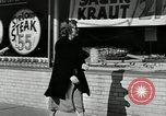 Image of auto worker Detroit Michigan USA, 1950, second 50 stock footage video 65675032773
