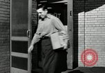 Image of auto worker Detroit Michigan USA, 1950, second 62 stock footage video 65675032773