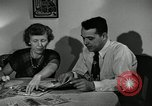 Image of family of auto worker Detroit Michigan USA, 1950, second 19 stock footage video 65675032774