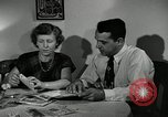 Image of family of auto worker Detroit Michigan USA, 1950, second 20 stock footage video 65675032774