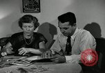 Image of family of auto worker Detroit Michigan USA, 1950, second 21 stock footage video 65675032774