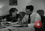 Image of family of auto worker Detroit Michigan USA, 1950, second 24 stock footage video 65675032774