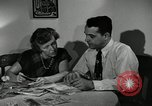 Image of family of auto worker Detroit Michigan USA, 1950, second 25 stock footage video 65675032774