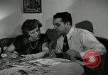 Image of family of auto worker Detroit Michigan USA, 1950, second 26 stock footage video 65675032774