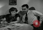 Image of family of auto worker Detroit Michigan USA, 1950, second 27 stock footage video 65675032774