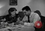 Image of family of auto worker Detroit Michigan USA, 1950, second 31 stock footage video 65675032774