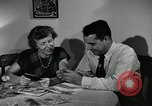 Image of family of auto worker Detroit Michigan USA, 1950, second 32 stock footage video 65675032774